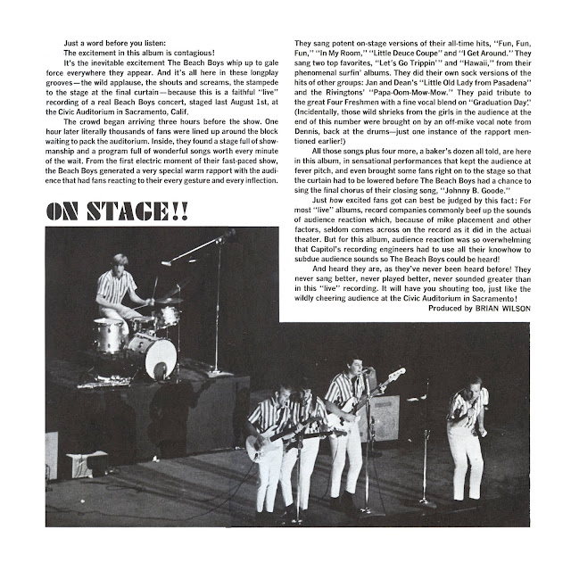 THE BEACH BOYS . . . . .ROCK AND ROLL MUSIC