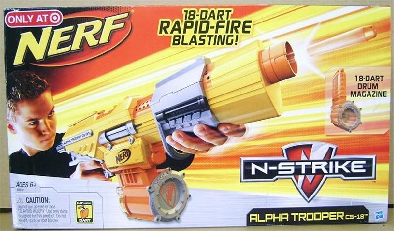 Sg Nerf Nerf N Strike Alpha Trooper Cs 18 Sneak Peek