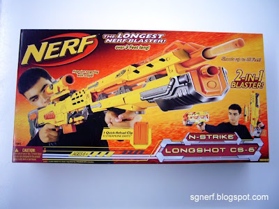 Yellow Longshot Box