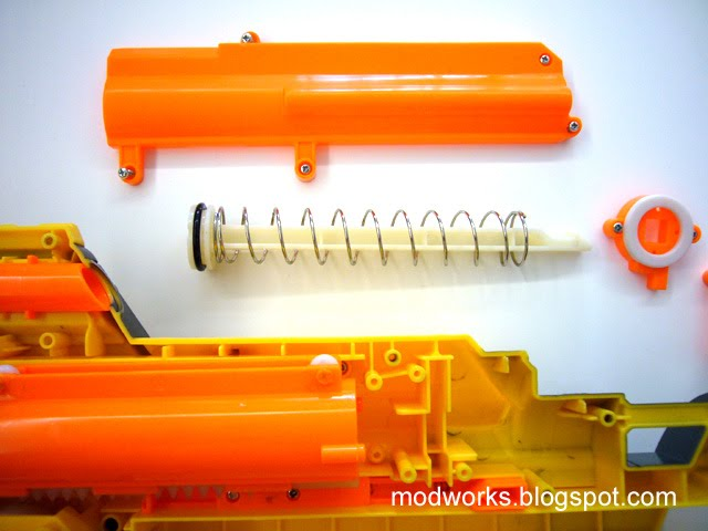 Mod Works Nerf Stampede Internals Guide