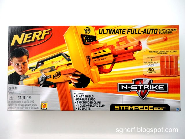 Br Nerf Nerf Stampede Review