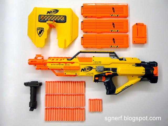 English Nerf Review Nerf Stampede Ecs