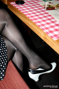 First Commercial Pantyhose Began Lining 63