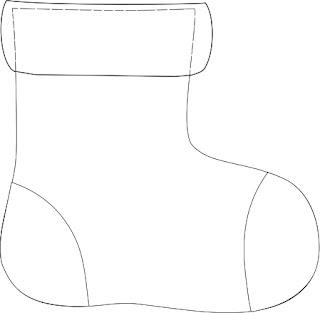 nikolausstiefel vorlage papier my blog. Black Bedroom Furniture Sets. Home Design Ideas