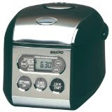 Sanyo 3 1/2 Cup Micro-Computerizes Rice Cooker