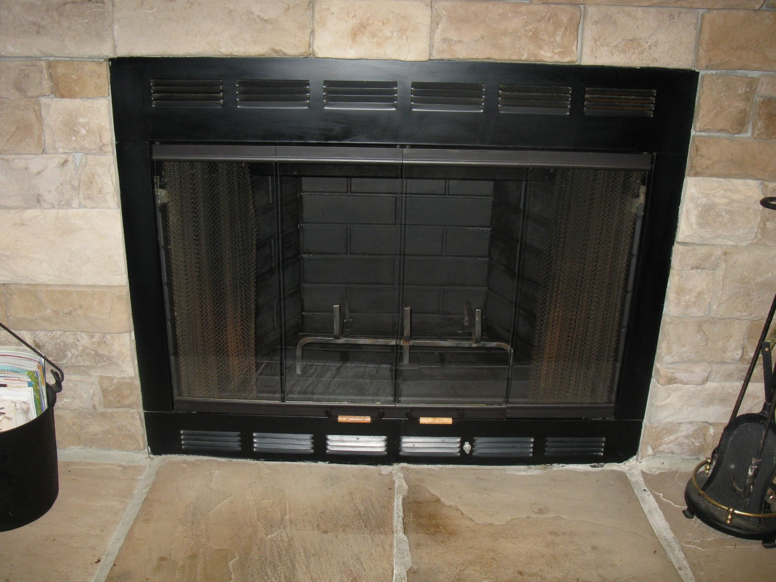 Candy Creek Fireplace Facelift