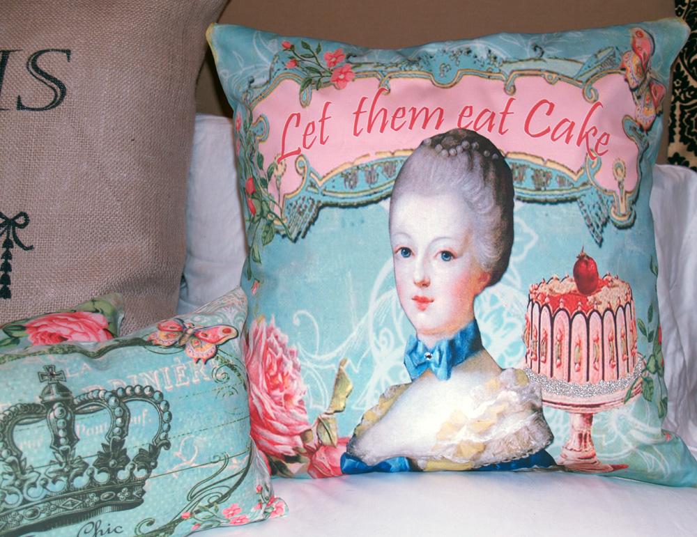 royal bebe shoppe new arrival huge 18 shabby marie antoinette let them eat cake envelope. Black Bedroom Furniture Sets. Home Design Ideas