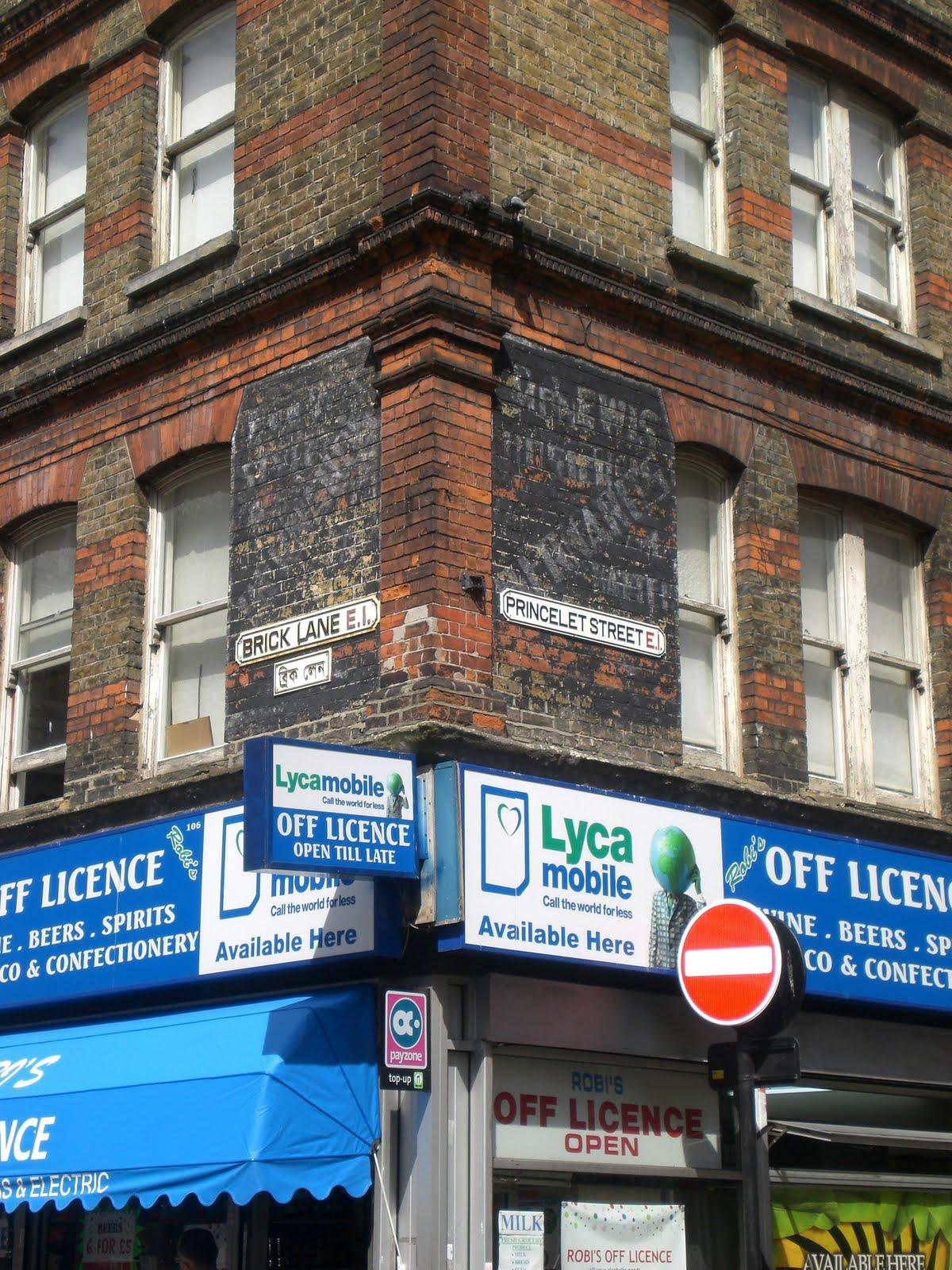 Brick Lane: Faded London: Signs Of Brick Lane