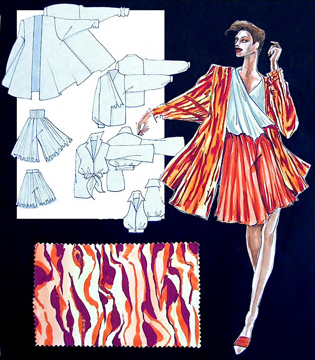 Fashion Illustration Class – The Art League Blog