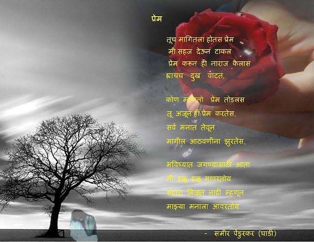 Marathi Kavya Sangrah avl: Tu Magitale Hotash Prem