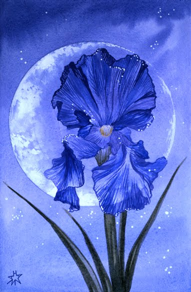 Image result for flowering moon painting