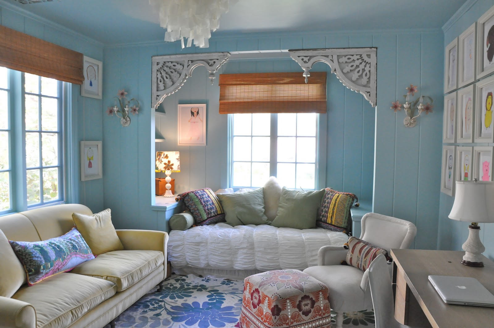 10 Amazing Kids Room Ideas: A 10 Year Old's Room By Giannetti Designs...(Via Made By
