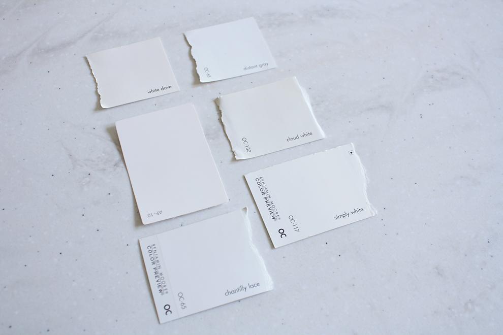 Simply White Vs White Dove Kitchen Cabinets