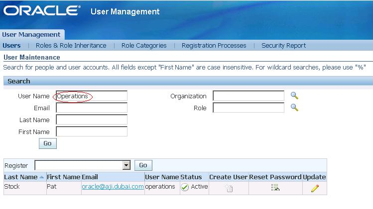Expertise in Oracle Apps    : Proxy user functionality of R12