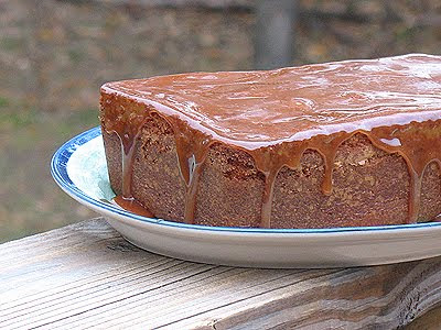 I Ve Made This Apple Cider Pound Cake Twice Already That S A Total Of 4 Cakes Originally When Cooked The Caramel Too Long