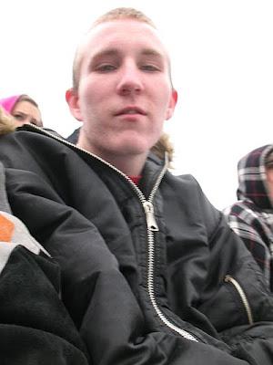 An old photo of Amanda\'s oldest son Tony.