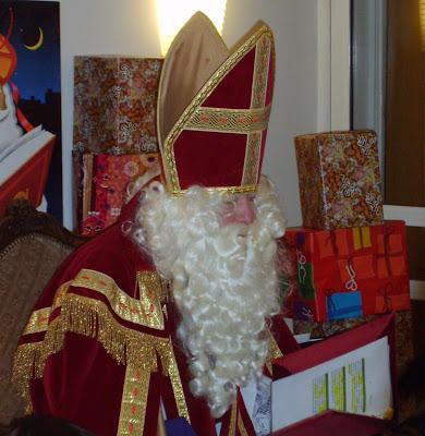 Sinterklaas en het orgel