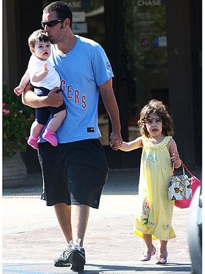 Adam Sandler Daughters Sadie And Sunny | celebrity image gallery