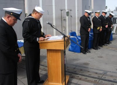 The Navy Christian: Retirement Ceremony