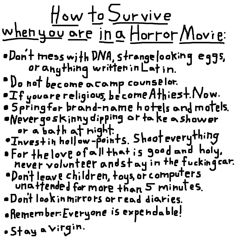 Reuben Bresler: Horror Movie Survival Guide