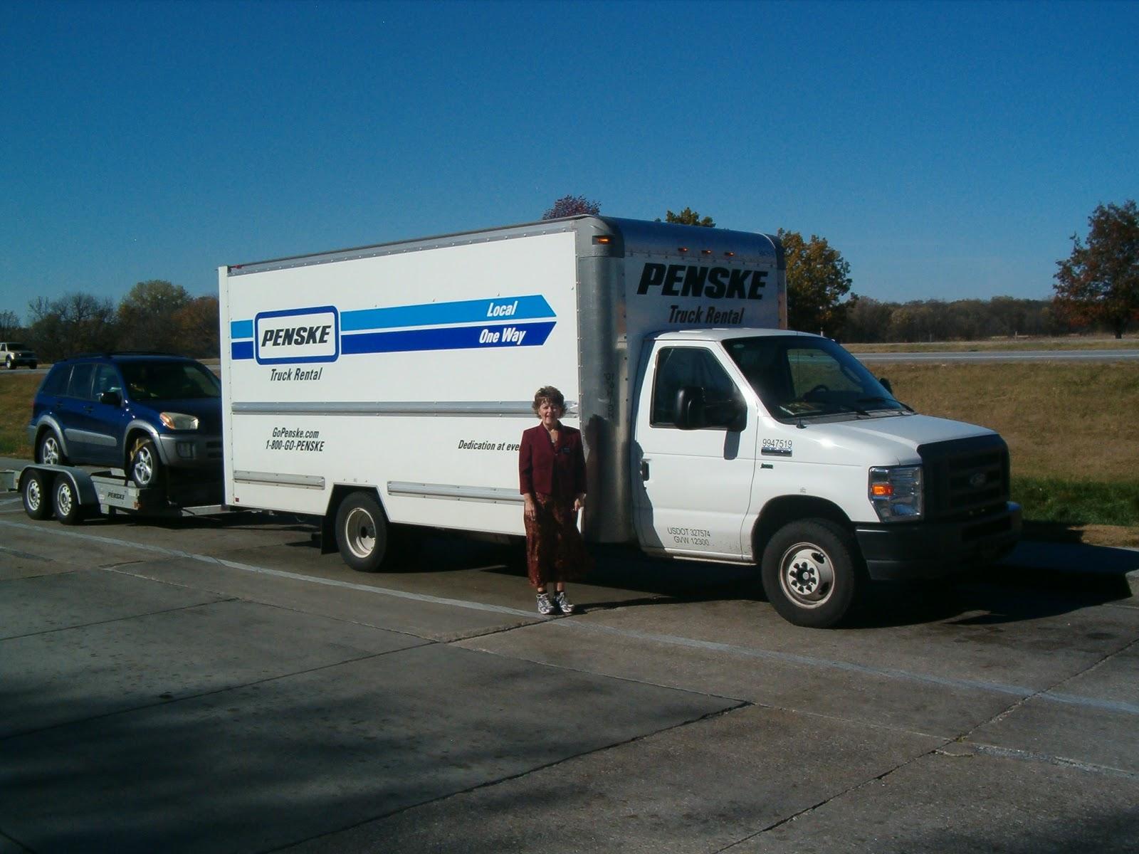 Truck Rental Penske Truck Rental Rates