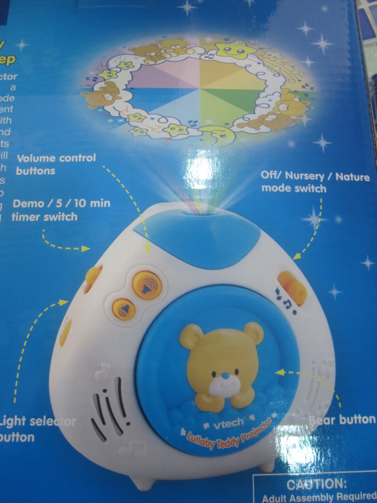 Baby Musical Night Light The Little One Boutique Vtech Lullaby Teddy Projector