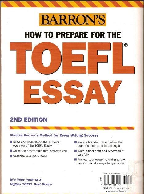 Essays for toefl ibt