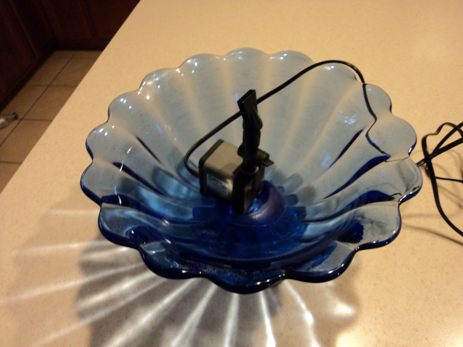 Water Fountain Indoor: Doberman's By The Sea: DIY Indoor Water Fountain