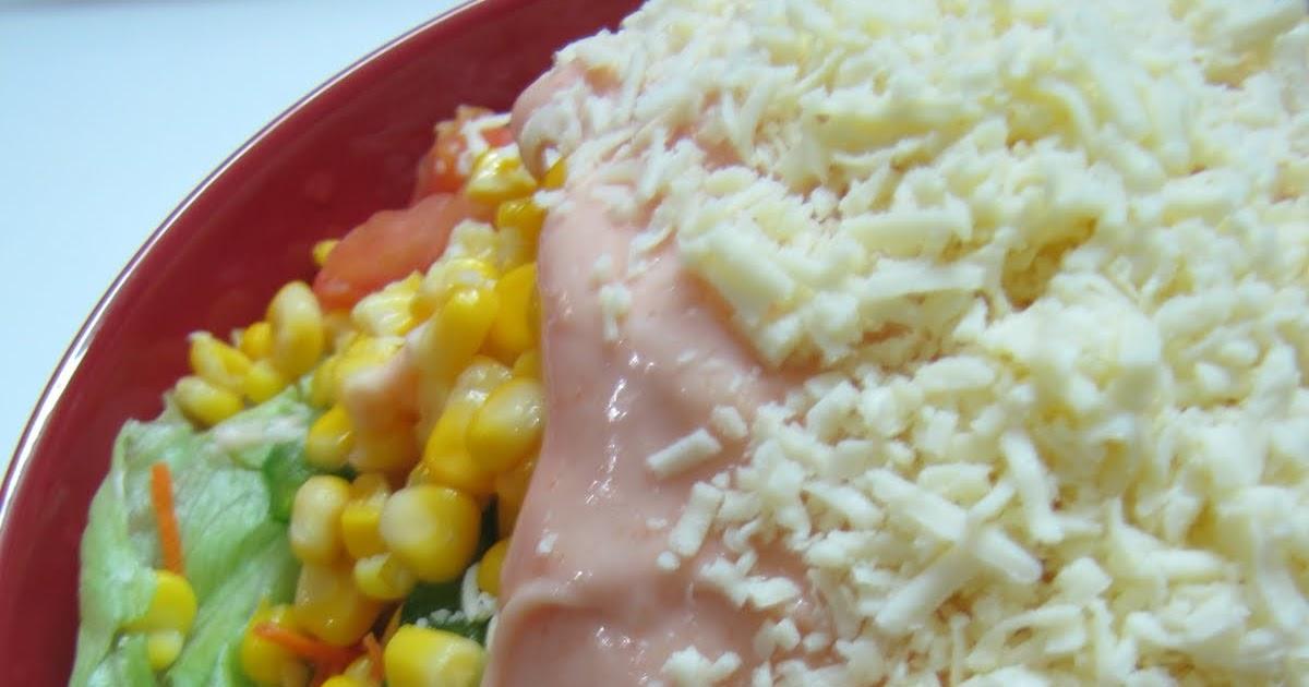 salad sayur lezat