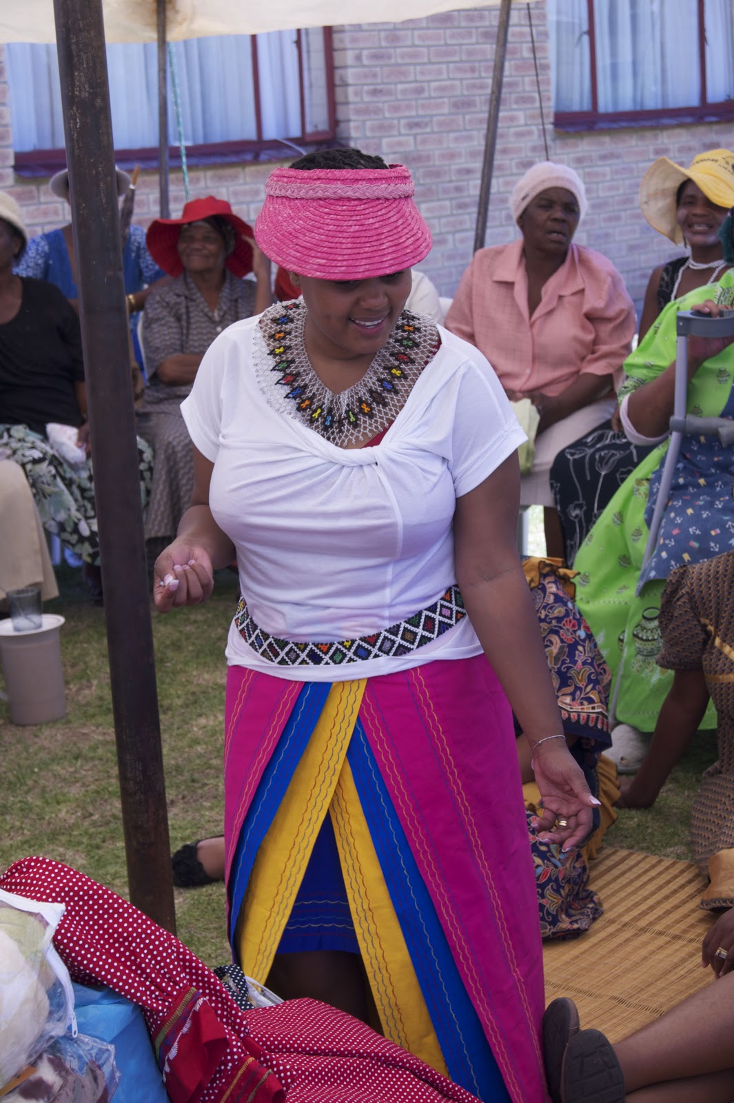 Ginger And Spice: Sharlotte's Traditional Zulu Wedding