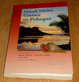 My Second Book:  GOOD NEWS COMES TO POHNPEI