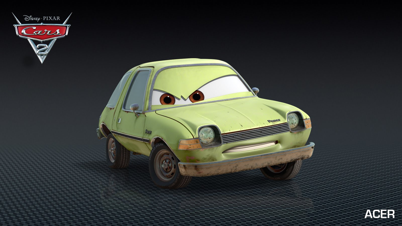 Characters In Cars: Access Pixar: New Cars 2 Characters: Grem And Acer