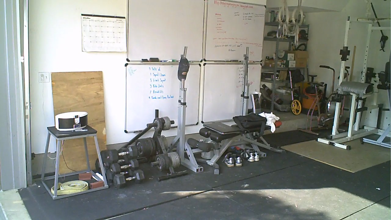Garage Gym With Car Elgin Garage Gym Sunday August 8 Airdyne And Tire