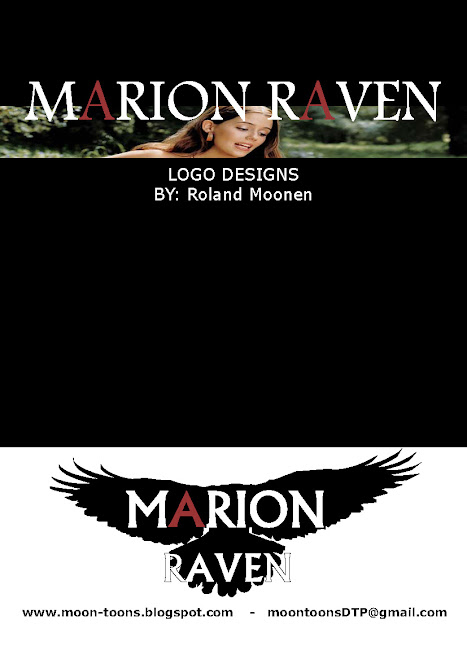 Marion Ravan logo ontwerp (front of document)