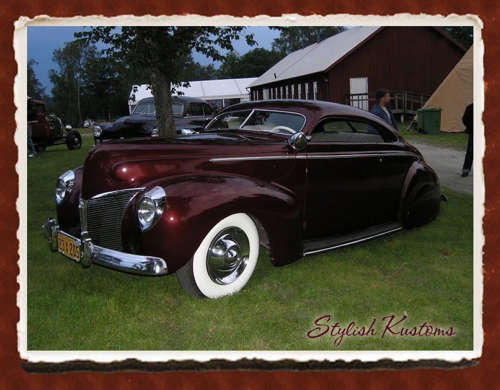 hight resolution of stylish 1940 mercury