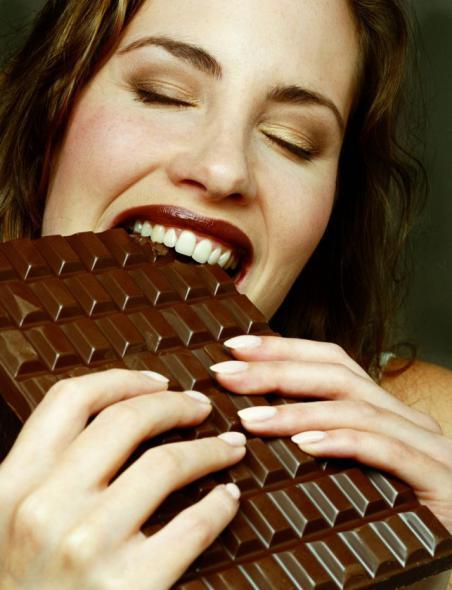 eat chocolates