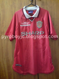 wholesale dealer 026f0 a5125 My Jersey Collection: Manchester United 1999 Limited Edition ...