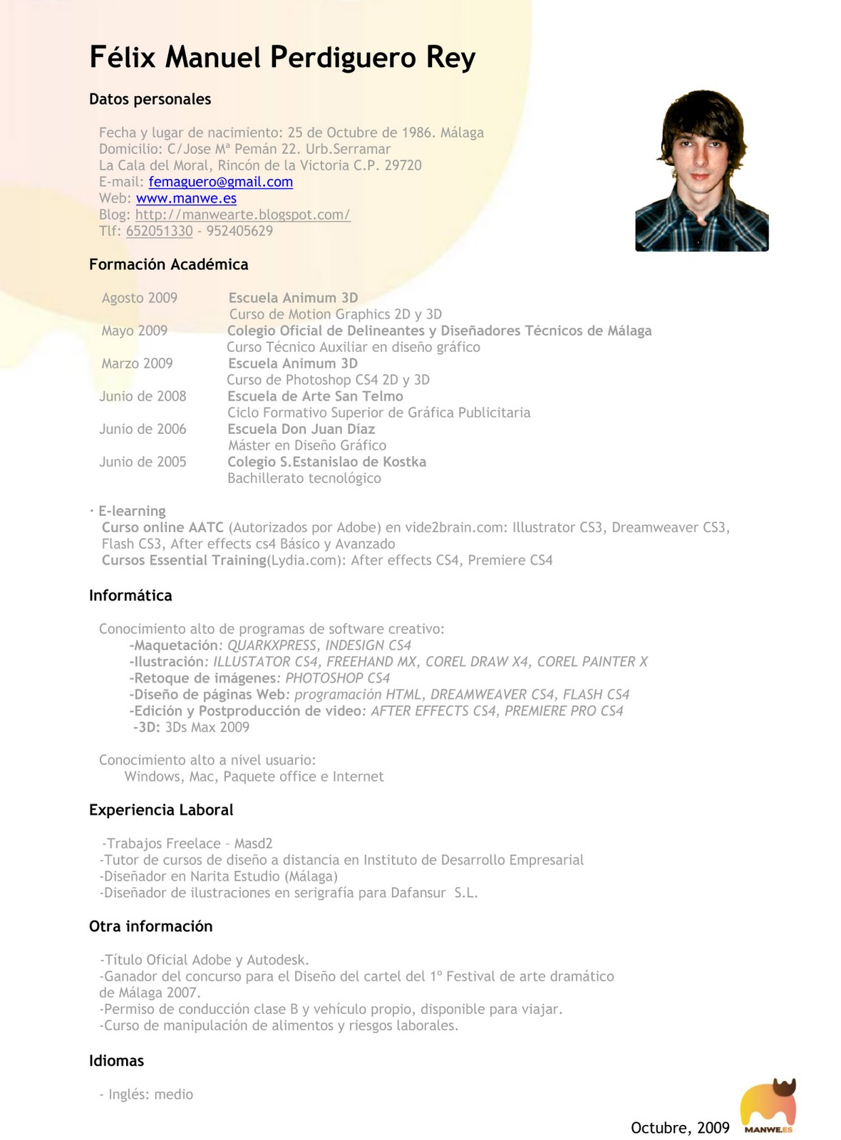 diseño de curriculum - Etame.mibawa.co