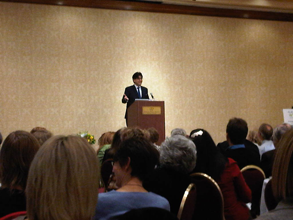 my head is full of books highlights of wlma conference sherman alexie author of the absolutely true diary of a part time n was the guest speaker at the friday night banquet he teased us by saying that he
