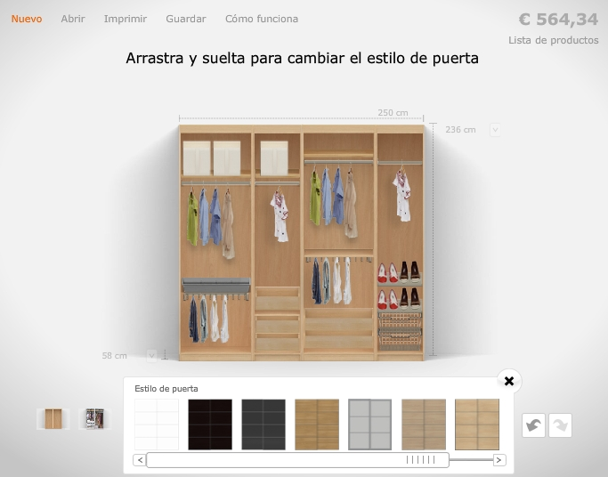Dormitorio muebles modernos julio 2016 - Planificador armarios ...