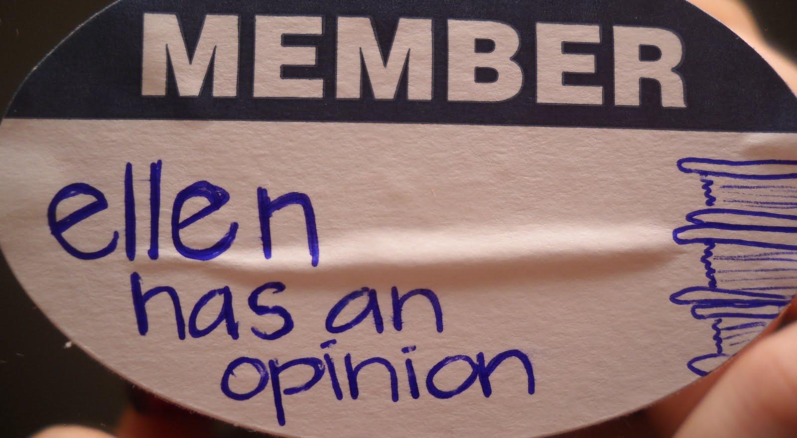 ellen has an opinion . . .: April 2010