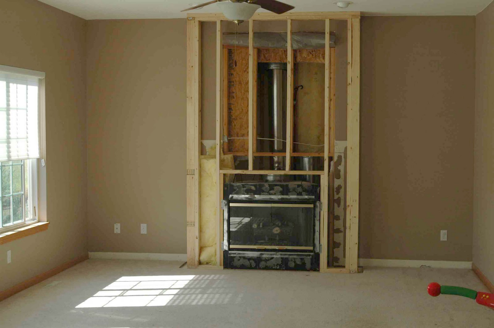 Wood Fireplace Construction Amy Carman Design The Fireplace