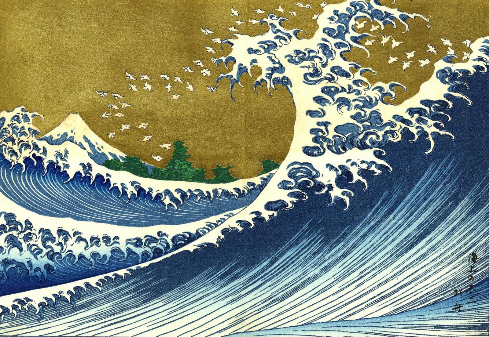 Wallpaper Hokusai Wallpaper202