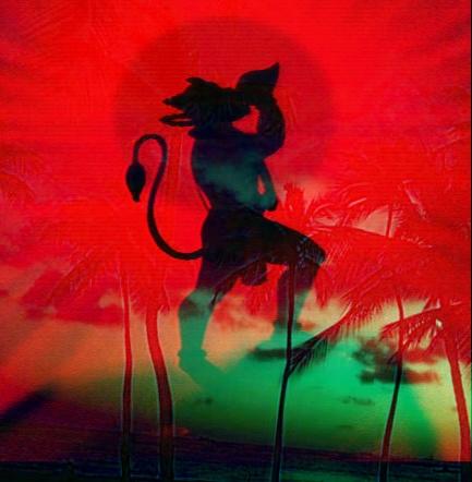 3d images of hanuman