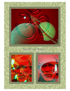 Shirdi Sai Baba 3D Images