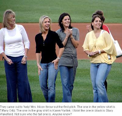 Malu Google Kristin Mirabelli Karen Varitek And Kim Brown Wives