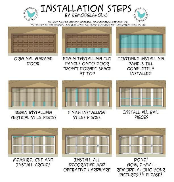garage door business ideas - Remodelaholic