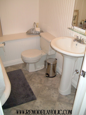 Remodelaholic   Bathroom, Retro Remodel, Before and After
