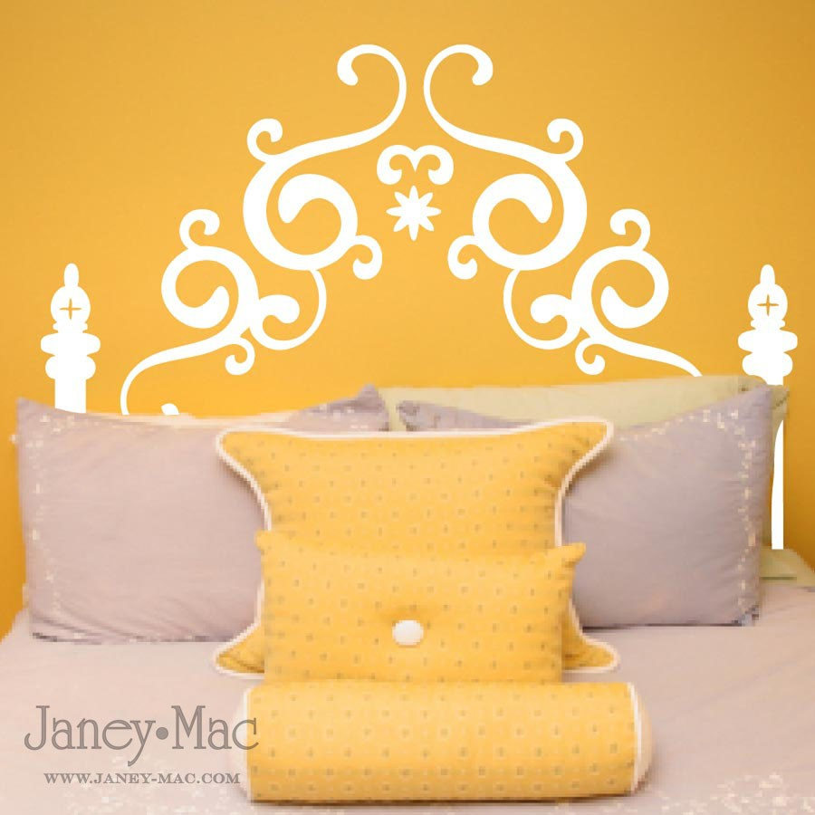Remodelaholic | Janey Mac Vinyl Wall Art