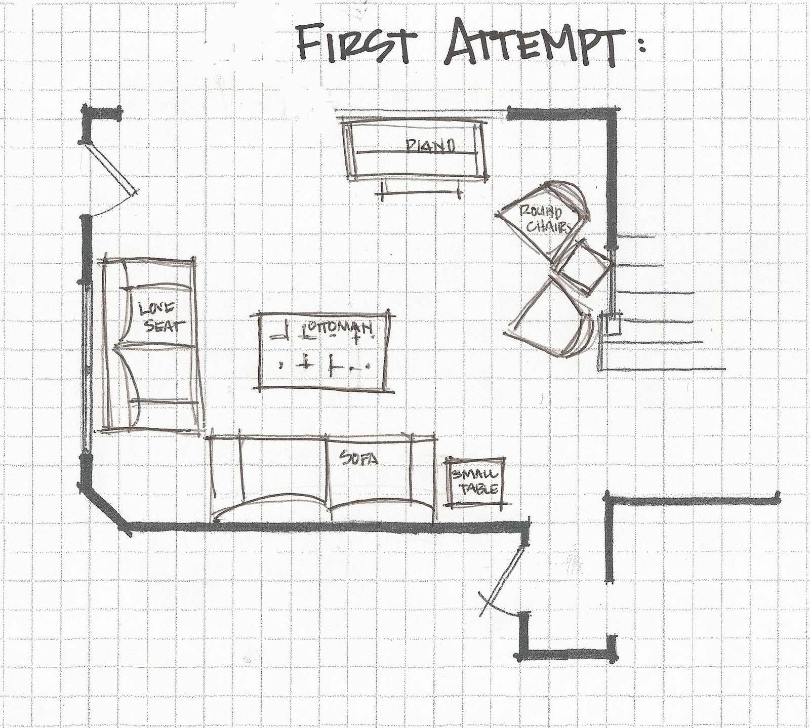 floor plan furniture layout. Living Room Part 3; Experimenting With Furniture Layouts Floor Plan Layout O